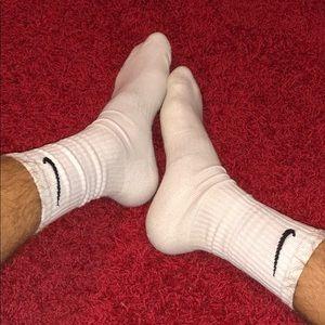 Worn Nike socks
